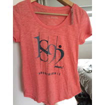 Remera Abercrombie Mujer Talle S
