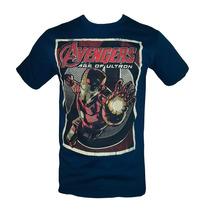 Remeras Marvel / The Avengers !!! Originales E Importadas !!