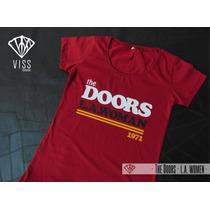 Remera Estampada The Doors - Clásicos Del Rock