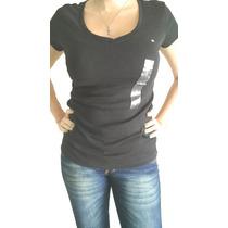 Remera Mujer Importada Tommy Hilfiger Escote V-nueva Etiquet