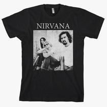 Remeras Nirvana Importadas Talles L, Xl Nuevas!