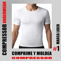 Remera Compresora Modeladora De Cuerpo