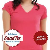 Remeras Lisas Modal Vs Colores Dama Sublimar Exc. Calidad
