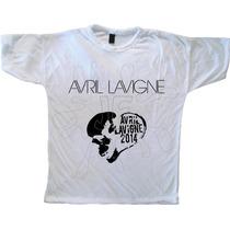 Remera Diseño Avril Lavigne