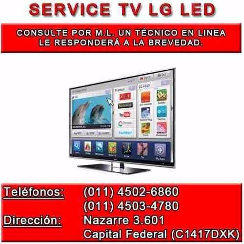 Reparacion Service Tv Lg Led Pantalla Rota Jvc Lt-55dr930