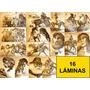 Láminas Arbio 16 Láminas - Arte - Antiguedades - Dibujo