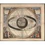 Cuadro En Canvas Mapa Antiguo Ptoloméo, 90x75