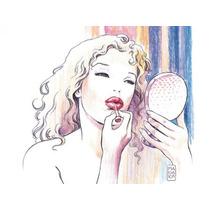 Milo Manara - Beauty - Lamina Importada De 40 X 30 Cm
