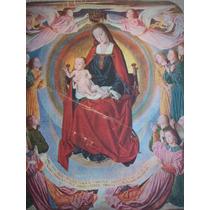 Lámina Reproducción Virgen Maitre De Moulins