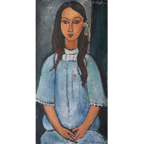 Lamina - Alice - Amedeo Modigliani - 40 X 70 Cm.