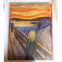 Cuadro El Grito Edward Munch Tela Canvas Reproducciones