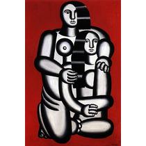 Lamina - Dos Figuras - Fernand Léger - 50 X 71 Cm.