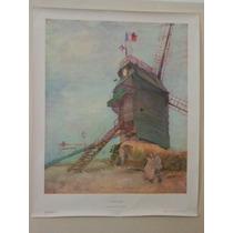 Cuadro Van Gogh Le Moulin De La Galette Reproduccion Tela