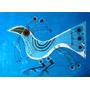 Arte Del Uruguay : Páez Vilaró, C - Pájaro Azul (serigrafía)