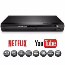 Reproductor Bluray Dvd Philips 2305 Usb Wifi Netflix Youtube