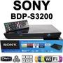 Sony Blu-ray Dvd Bdp-s3200 Full Hd Hdmi Usb Cerrado Usa
