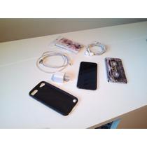 Ipod Touch 32gb Negro Quinta Gen 5g Como Nuevo Con Fundas!!!