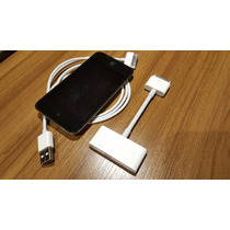 Ipod Touch 4ta Generacion 8gb+cable Para Conectar A Tv Hdmi