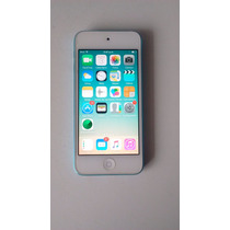 Ipod Touch 5g 32gb Azul, Usado, Con Accesorios Incluidos!!!