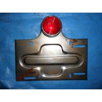 Farol Y Porta Patente Siambretta 125