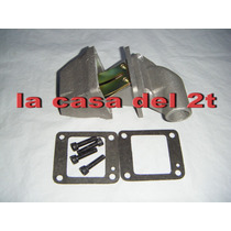 Caja Flappera Zanella 70cc 80cc 90cc+flapper+codo+juntas