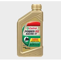 Aceite Castrol Power Rs Racing 4t 10w-50 4tiempos Moto Delta