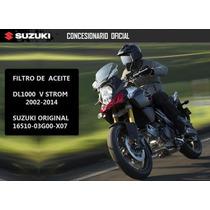 Filtro De Aceite Original Suzuki V-strom 1000 Contacto Moto