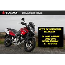 Reten De Suspension Vstrom 1000 Suzuki Original Contactomoto