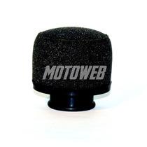 Filtro Espuma Moto- Boca 35mm- Motoweb