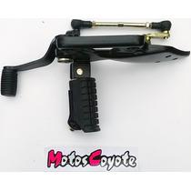 Juego Soporte Pedalin Gilera Vc 200r Motos Coyote Moron !!