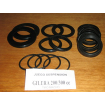 Gilera 200/300 Retenes De Suspension Tipo Macho 14 Piezas