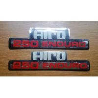 Gilera Hiro 250 Calcos Laterales