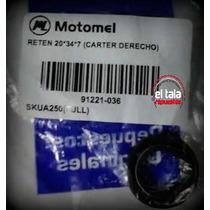 Reten Carter Derecho 20*34*7 Skua 250 Full Original Motomel.