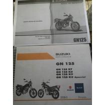 Suzuki Gn 125 + Manual De Deapiece