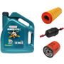 Combo 1 Aceite, Filtro Aceite, Aire, Combust Eco Sport 2,0