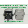 Regulador De Voltaje Tipo Indiel 12 V Incorporado Universal