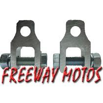 Alargue Amortiguador Aluminio Cg Titan En Freeway Motos !!
