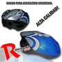 Casco Bicilceta Mountain Bike Playera Solo En Richard Bikes