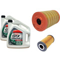 Combo 2 Aceite, Filtro Aceite, Aire, Comb Ford Ranger