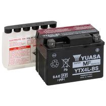 Batería Motos Yuasa Ytx4l-bs 12v3ah Con Acido Yamaha Vespa
