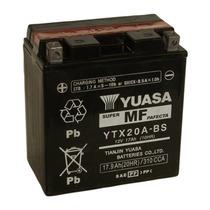 Bateria Motos Yuasa Ytx20a-bs 12v 17ah Cuatriciclo Jet Ski