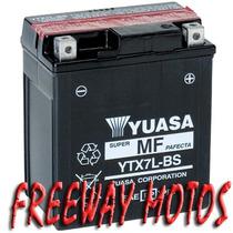 Bateria Yuasa Ytx7l-bs Twister/tornado/falcon Freeway Motos!