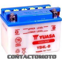 Bateria Yuasa Yb4l-b Scooter 50 Cc Etc Distribuidor Oficial