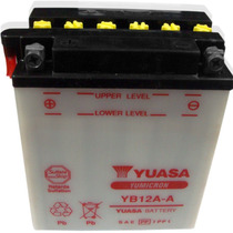 Bateria Yuasa Yb 12a-a Y Muchas Mas!fas Motos!