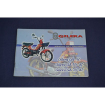 Gilera Ga50 Ga50 4t Ga70 4t Manual De Usuario Original