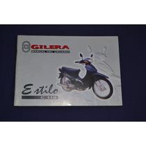 Gilera Estilo C 110 Manual De Usuario Original