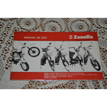 Zanella New Fire Sol Zcarga Crazy Manual De Uso Original