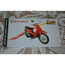Gilera Estilo C 110 Manual De Usuario Original