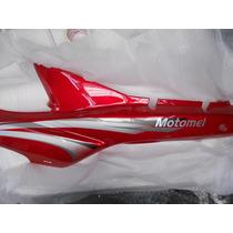 Cacha Bajo Asiento Izquierda Motomel C 110 Dlx Rojo Original