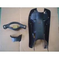 Kit Cubre Piernas Gilera Smash 110cc Negro - Dos Rueda Motos